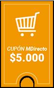 Cupón válido para tu próxima compra en MDirecto